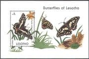 Lesotho 1990 Papilio demodocus/ Butterflies/ Butterfly/ Orchids/  Insects/ Nature 1v m/s (b4458)