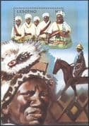 Lesotho 1991 Tourism/ Tribal Costumes/ Clothes/ Horses/ Transport/ Animals/ Nature  1v m/s ref:n16312
