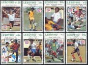 Lesotho 1994 World Cup Football/ WC/ Soccer / Sports/ Games/ Players 8v set (n17426)