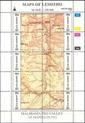 Lesotho 1996 Maps/ Map-making/ Geography/ Cartography/ History/ Heritage 3 x 10v s-t  sheets (s461a)