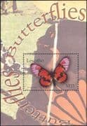 Lesotho 2004 Butterflies/ Insects/ Nature/ Butterfly/ Conservation 1v m/s (n14924)