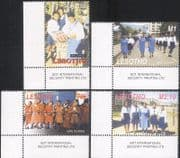 Lesotho 2005 Girl Guides 80th/ Brownies/ Guiding/ Scouting/ Youth Leisure 4v set (n15308)