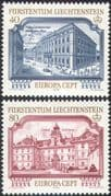 Liechtenstein 1978 Europa/ Architecture/ Buildings/ Castle/ Palace/ Heritage/ History 2v set (n42732)