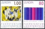 Liechtenstein 1993 Europa/ Modern Art/ Contemporary/ Painting/ Artists 2v set (n44230)