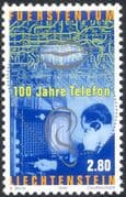 Liechtenstein 1998 Telephone Switchboard/ Ear/ Mouth/ Communications/ Telecomms 1v (n44242)
