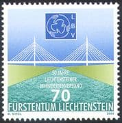 Liechtenstein 2003 Disabled Association/ Bridge/ Health/ Welfare/ Medical/ Engineering/ Architecture/ Animation 1v (n42408)