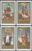 Liechtenstein 2003 Saints/ People/ Religion/ Church/ Dragon/ Animals 4v set (n42730)