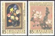 Liechtenstein 2005 Flowers/ Art/ Artists/ Paintings/ Nature/ People 2v set (n42736)