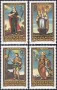 Liechtenstein 2005 Saints/ People/ Religion/ Church/ Deer/ Animals 2v set (n42726)