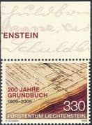 Liechtenstein 2009 Land Register/ Politics/ Registry / People/ Books/ History/ Heritage 1v (n44238)