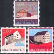 Liechtenstein 2009 Museum/ Houses/ Buildings/ Architecture/ Heritage 3v set (n42364)