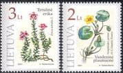 Lithuania 2001 Flowers/ Nature/ Plants/ Red Book/ Conservation 2v set (n32774)