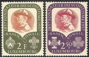 Luxembourg 1957 Scouts/ Guides/ Baden-Powell/ Scouting/ Youth/ Leisure 2v set (n31944)
