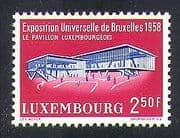 Luxembourg 1958 EXPO  /  Exhibition  /  Buildings  /  Architecture  /  Commerce 1v (n37341)
