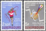 Luxembourg 1962 Cyclo-cross Championships/ Cycling/ Bikes/ Sport 2v set (n23697)