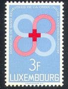 Luxembourg 1968 Red Cross  /  Medical  /  Blood 1v (n25843)