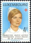 Luxembourg 1974 Red Cross/ Medical/ Health/ Welfare/ Princess Marie-Astrid/ Royal/ Royalty/ People 1v (lu10101)