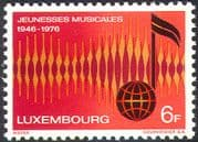 Luxembourg 1976 Youth Music Association/ Musicians/ Songs/ Choirs/ Singing/ Arts 1v (n42477)