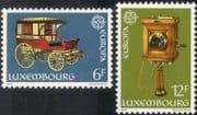 Luxembourg 1979 Europa/ Communications/ Stage Coach/ Telephone/ Transport/ Telecomms 2v set (lu10111)