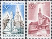 Luxembourg 1979  Tourism/ Church/ Station/ Fountain/ Buildings/ Architecture  2v set (lu10169)