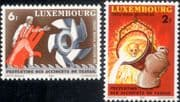 Luxembourg 1980  Safety at Work/ Health/ Iron/ Steel/ Foundry/ Skull/ Industry  2v set (lu10174)