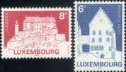 Luxembourg 1982  Buildings/ Architecture/ Monuments/ Castles/ Heritage/ Tourism  2v set (lu10167)