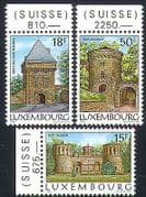 Luxembourg 1986 Fort  /  Fortifications  /  Military  /  Buildings  /  Architecture 3v (n34068)