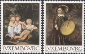 Luxembourg 1989  Europa/ Children's Games/ Art/ Paintings/ Drum/ Music/ Artists  2v set (n46399)