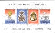 Luxembourg 1995 VE Day/ WWII/ Military Medals/ Honours/ Soldiers/ Dove 4v m/s (n43483)