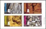 Luxembourg 2005 Tourism/ Minerals/ Nature/ Geology/ Rocks 4v set s/a pane (lu10135)