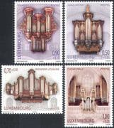 Luxembourg 2008 Welfare Fund/ Organs/ Music/ Musical Instruments 4v set (n42390)