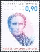 Luxembourg 2009 Louis Braille/ Health/ Welfare/ Blind/ Finger/ People 1v (lu10152)