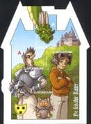 Luxembourg 2011 Knight/ Dragon/ Galago (Bushbaby)/ Castle/ Cartoons/ Comic  4v s/a m/s (lu10145e)