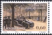 Luxembourg 2014 World War One/ WWI/ Military/ War/ Soldiers/ Car/ Transport 1v (lu10142)