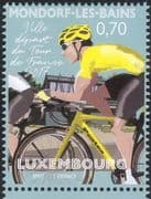 Luxembourg 2017 Tour de France/ Race/ Cycling/ Bikes/ Bicycles/ Sports/ Transport 1v (lu10140)