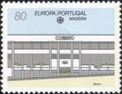 Madeira (Portugal) 1990 Europa/ Post Office Buildings/ Architecture 1v (ex1020)