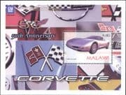 Malawi 2003  Corvette/ Classic Cars/ Motoring/ Motors/ Transport  1v m/s (s5078g)