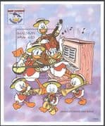 Maldives 1995 Disney/ Donald Duck/ Cartoons/ Animation/ Music/ Birds 1v m/s (d00250)