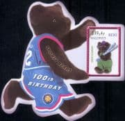 Maldives 2002  Teddy Bear/ Bears/ Teddies/ Toys/ Skiing/ Winter Sports/ Games 1v m/s (s5456f)