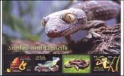 Maldives 2004 Snakes/ Lizards/ Frogs/ Animals/ Nature/ Wildlife/ Reptiles  4v m/s (n46282e)