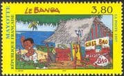 "Mayotte 1997 ""La Banga""/ Houses/ Ceremonies/ Cartoons/ Animation 1v (n42712)"