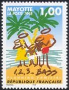 Mayotte 1998 Family Planning Campaign/ Health/ Welfare/ Medical/ Palm Tree 1v (n42694)