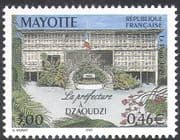 Mayotte 1999 Dzaoudzi Prefecture Building/ Buildings/ Architecture 1v (n42762)
