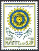 Mayotte 2000 Rotary/ Inner Wheel/ Welfare/ Education/ Medical/ People 1v (n42804)