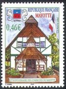 Mayotte 2002 Commune 25th Anniversary/ Flag/ Buildings/ Architecture 1v (n42701)