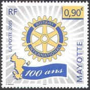 Mayotte 2005 Rotary 100th Anniversary/ Welfare/ Education/ Medical/ People 1v (n42687)