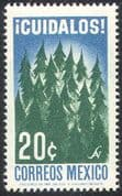 Mexico 1965 Trees/ Forest/ Nature/ Environment/ Conservation/ Plants 1v (n42040)