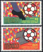 Mexico 1969 Football World Cup Championships/ WC/ Soccer/ Sport/ Games 2v set (n24978)