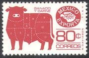Mexico 1975 Exports/ Beef/ Cattle/ Animals/ Food/ Trade/ Commerce/ Business 1v (n42093)
