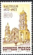 Mexico 1977 Saltillo/ Cathedral/ Buildings/ Architecture /History/ Heritage 1v (n42930)